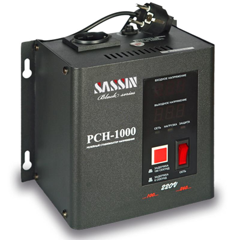 Однофазный стабилизатор напряжения SASSIN РСН-1000 (настенный) от Вольт Маркет