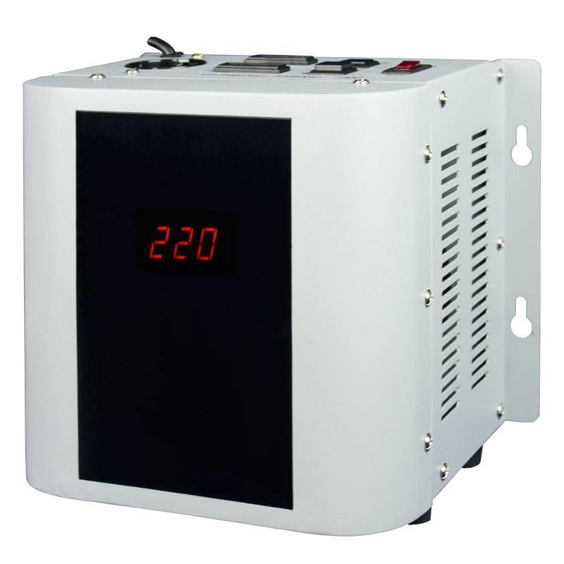 Однофазный стабилизатор напряжения Энергия Hybrid 1000 (U)Стабилизаторы напряжения<br>Энергия Hybrid 1000U – стабилизатор гибридного типа. Работает в электромеханическом режиме, обеспечивая плавную регулировку напряжения и высокую точность стабилизации в диапазоне от 135 вольт до 255, и в релейном, когда напряжение выходит за границы 135 или 255В. Предельные значения составляют 105 вольт по низу и 280 по верху. Мощность гибрид 1000 U составляет 0,7 – 1 кВт. Отличное решение для защиты маломощного оборудования, такого как, газовый котел, насос, телевизор, компьютер и т.д. Заводская гарантия –...<br><br>Cтрана производства: Россия<br>Гарантия: 12 месяцев<br>Расчетный срок службы: 10 лет<br>Применение: Для телевизора, Для котла, Для компьютера<br>Тип напряжения: Однофазный<br>Принцип стабилизации: Гибрид, Сервоприводный<br>Мощность (кВА): 1<br>Максимальный ток (А): до 4,5<br>Режим работы: Непрерывный<br>Способ установки: Напольный, Настенный<br>Тип охлаждения: Воздушное (естественное)<br>Дисплей: LED-дисплей<br>Индикация: Многофункциональная<br>Подключение: Вилка, розетка<br>Колличество розеток: 2 (220 В), 1 (110 В)<br>Режим &quot;БАЙПАС&quot;: Нет<br>Задержка включения: 6 секунд, 180 секунд<br>Предельный диапазон входных напряжений (В): 105-280<br>Рабочий диапазон входных напряжений (В): 135-255<br>Рабочий диапазон выходных напряжений (В): 213-227<br>Номинальное выходное напряжение (В): 220/110<br>Отклонение выходных напряжений: ±3% (по умолчанию) ±5% (настраивается)<br>Скорость реакции сервопривода: 9 скоростей<br>Скорость регулирования (В/сек): 20<br>Кратковременная перегрузка в течение 10 минут (%): &amp;#8804;30<br>Защита от повышенного напряжения, откл. при: &amp;#8805; 280В<br>Защита от пониженного напряжения, откл. при: &amp;#8804; 105В<br>Защита от перегрева трансформатора, откл. при: &amp;#8805; 120 °С<br>Защита от перегрузки по току: Автоматический выключатель<br>Степень защиты от внешних воздействий по ГОСТ 14254-96: IP20<br>Температура эксплуатации (°С): -