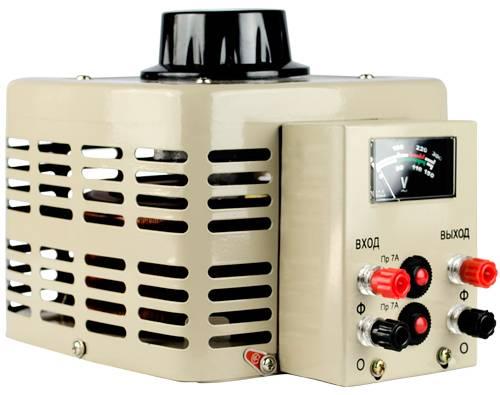 Регулируемый однофазный автотрансформатор (ЛАТР) Энергия TDGC2-0.5k (0.5 кВА) от Энергия