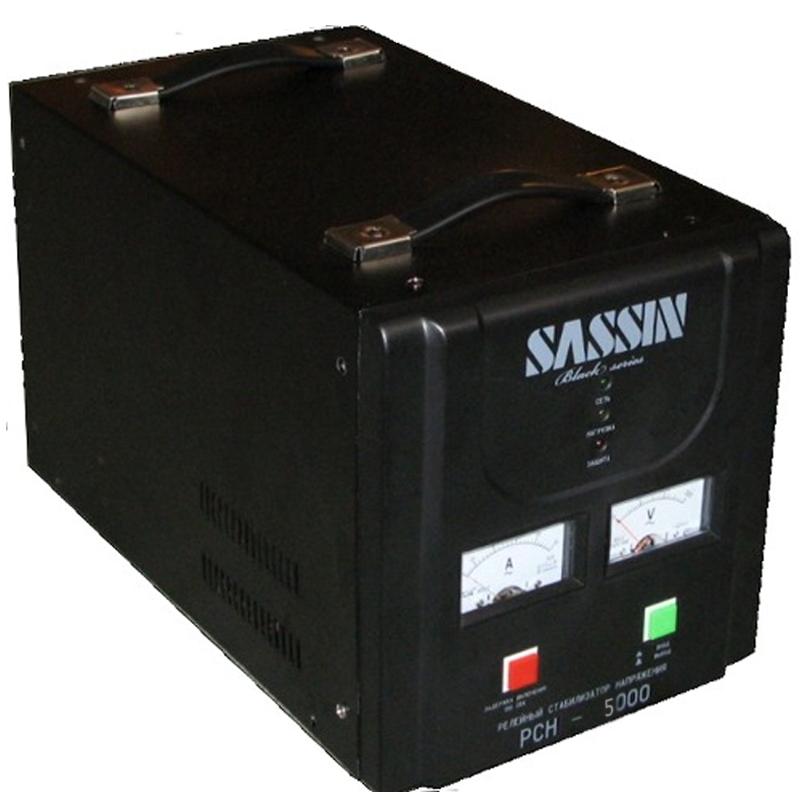 Однофазный стабилизатор напряжения SASSIN РСН-5000 от Вольт Маркет