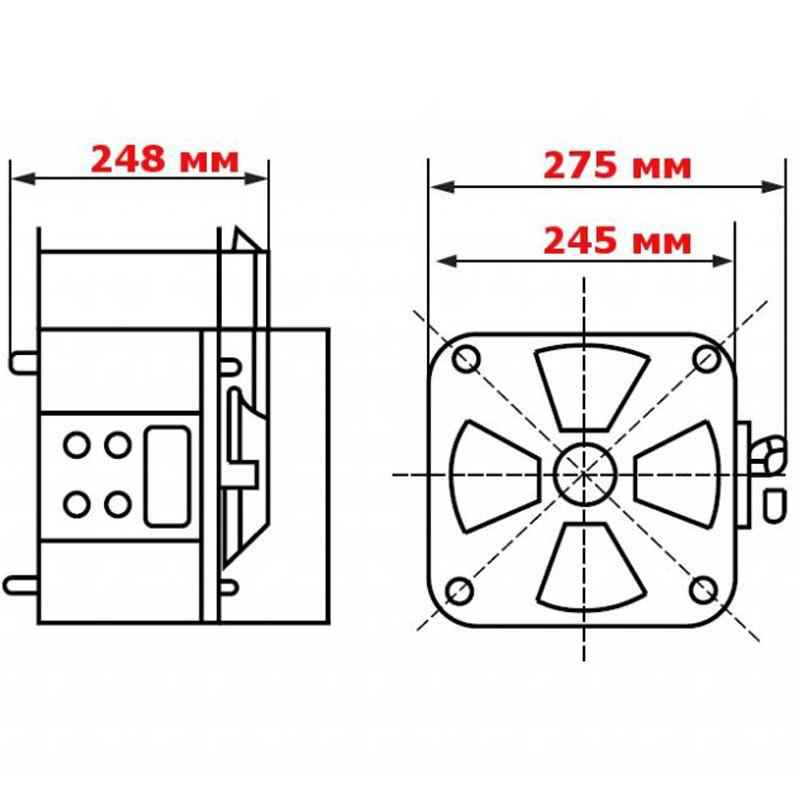 Регулируемый однофазный автотрансформатор (ЛАТР) ЭНЕРГИЯ TDGC2-5k (5 кВА) от Вольт Маркет