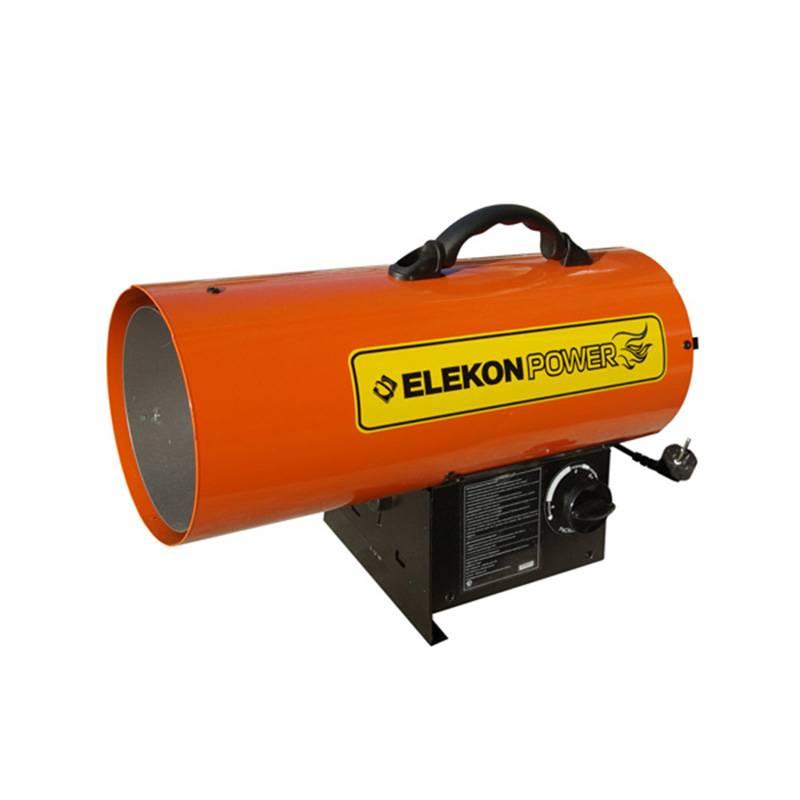 Тепловая пушка ELEKON POWER FA-50P. Нагреватель на сжиженном газе DLT-FA50P (14.7 квт) тепловая пушка hintek prof30380