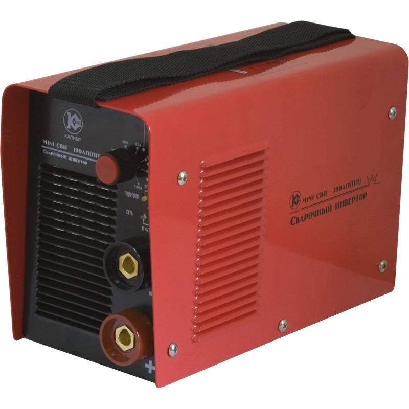 Сварочный аппарат Калибр MINI СВИ  190АП(ПН) (инверторный) - Строительное оборудование