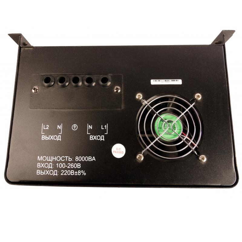 Однофазный стабилизатор напряжения VOLTRON РСН 8000 (настенный) от Вольт Маркет