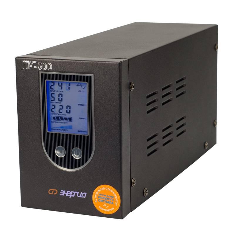 Инвертор (преобразователь напряжения) Энергия ПН-500 от Вольт Маркет