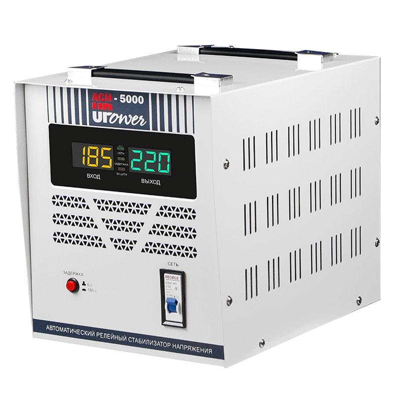 Однофазный стабилизатор напряжения UPOWER АСН 5000 II поколение от Вольт Маркет