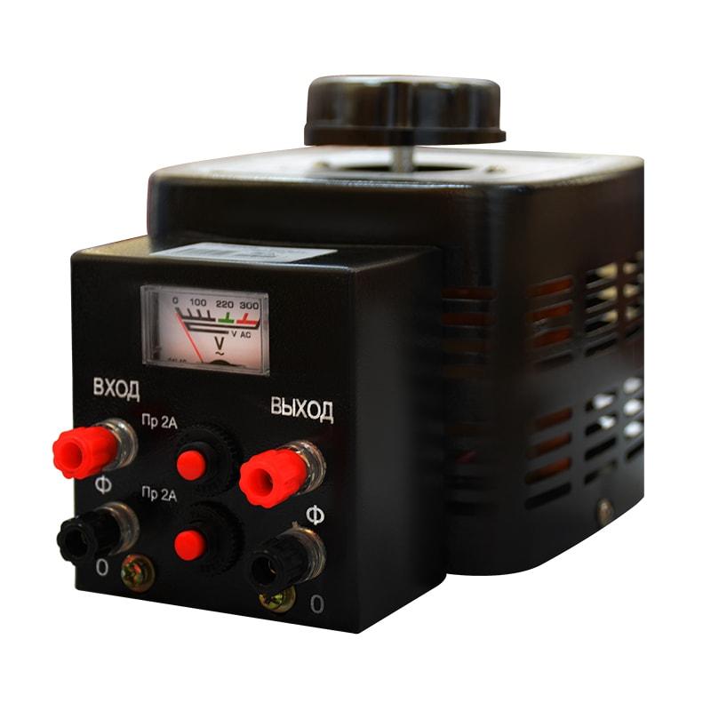 Автотрансформатор (ЛАТР) Энергия Black Series TDGC2-0.5кВА 2А (0-250V) однофазный от Энергия