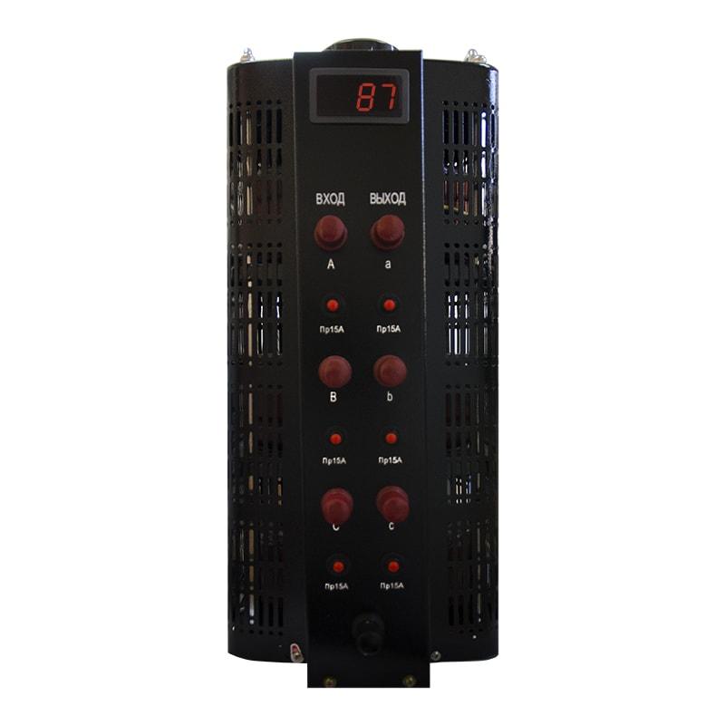 Автотрансформатор (ЛАТР) Энергия Black Series TSGC2-15кВА 15А (0-520V) трехфазный от Энергия