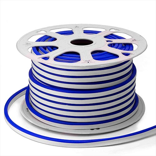 Неон светодиодный Apeyron синий 6 Вт 220 В IP65 50 м мини (10-207)