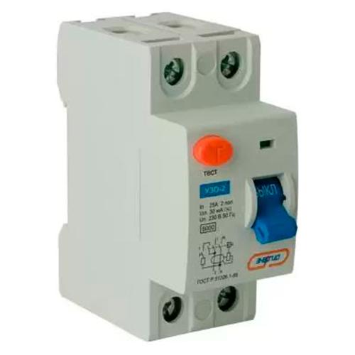Дифавтомат АВДТ 32 (УЗО2) 25A Энергия