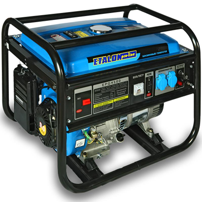 Бензиновый генератор Etalon Pro Line EPG4500 на 3.5 кВт