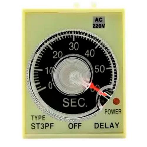 Pеле времени 220V ST3PF (5-60 sec) ЭНЕРГИЯ Е0401-0009