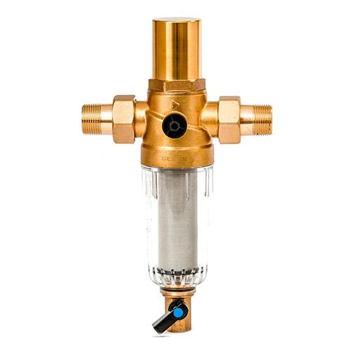 Магистральный фильтр Гейзер Бастион 7508205233 с защитой от гидроударов для холодной воды 3/4