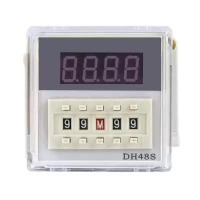 Реле времени цифровое 220V DH48S-2Z AC Энергия