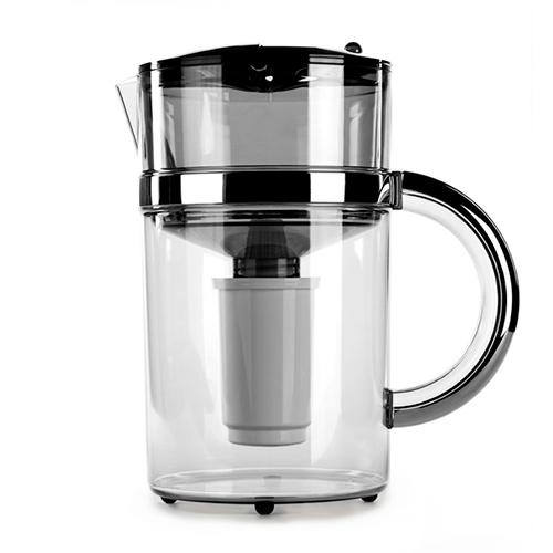 Фильтр кувшин Гейзер Матисс 4 литра хром универсальный для жесткой воды от Гейзер