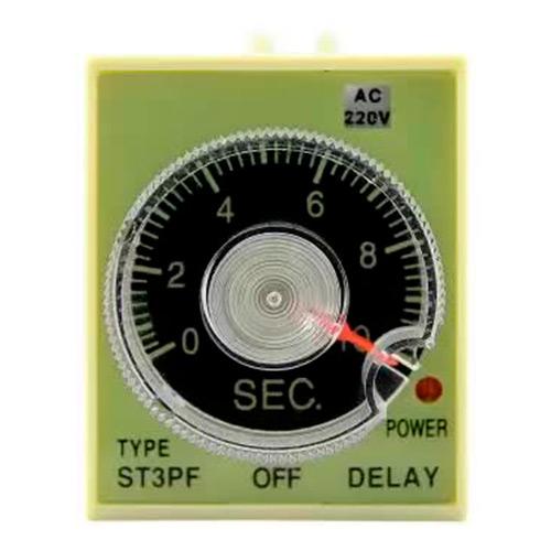 Pеле времени 220V ST3PF (1-10 sec) ЭНЕРГИЯ Е0401-0008