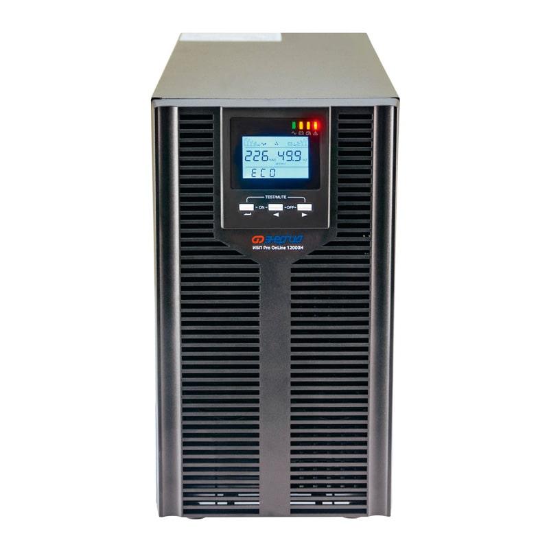 Источник бесперебойного питания Энергия ИБП Pro OnLine 12000 (EA-9010H) 192В напольный
