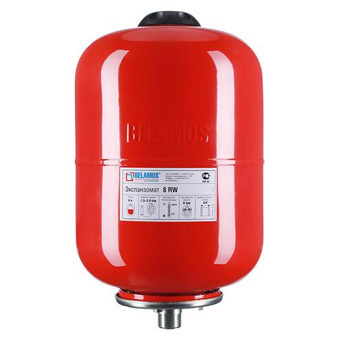 Гидроаккумулятор Belamos 8RW красный, подвесной от Belamos
