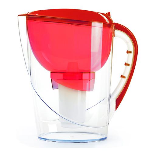 Фильтр кувшин Гейзер Аквариус 3,7 литра красный от Гейзер