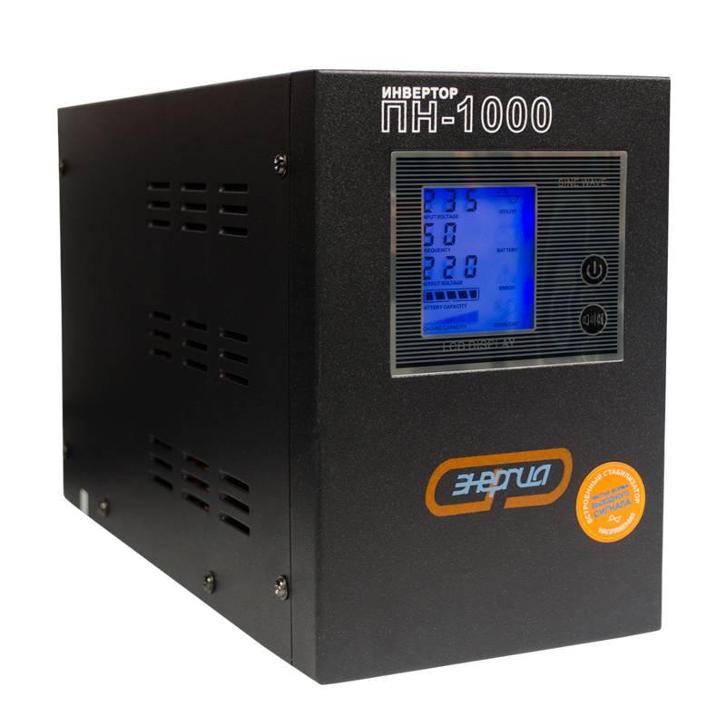 Инвертор (преобразователь напряжения) Энергия ПН-1000