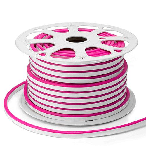 Неон светодиодный Apeyron розовый 6 Вт 220 В IP65 50 м мини (10-205)